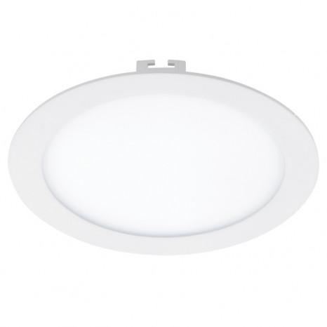 Fueva 1, LED, IP20, Ø 22,5 cm, weiß