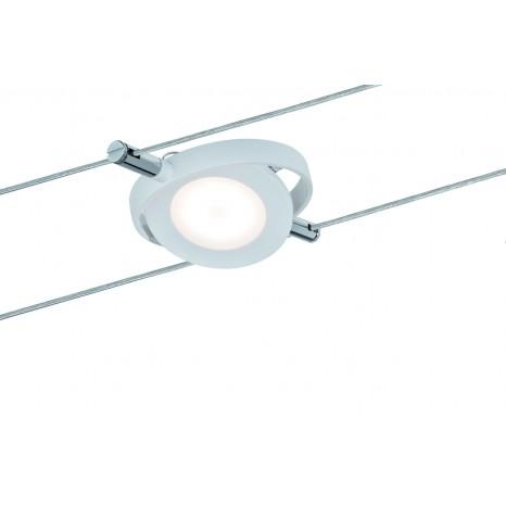 Wire Systems DC LED Spot RoundMac, 1x4W Weiß matt 12V DC Kunststoff