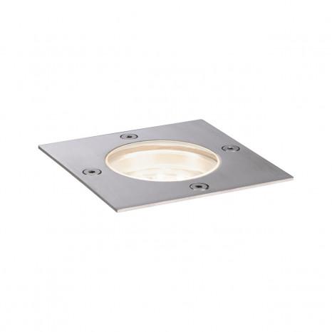 Plug & Shine 10 x 10 cm metallisch 1-flammig quadratisch