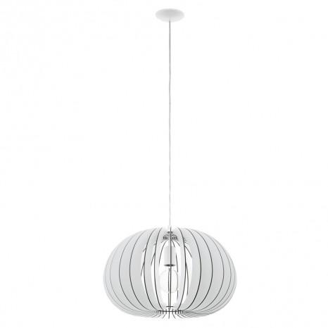Cossano, Höhe 110 cm, Ø 45 cm, weiß