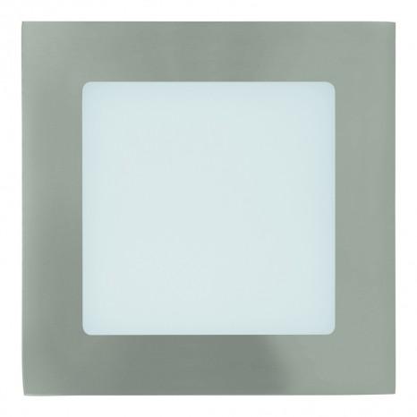 Fueva 1, LED, 12 x 12 cm, 3000K, nickel-matt
