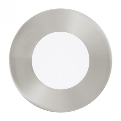 Fueva 1, 3er-Set, Ø 8,5 cm, 4000K, nickel-matt