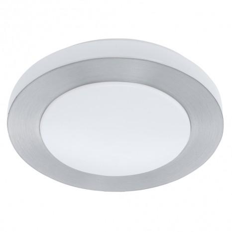 LED Carpi, Ø 30 cm, IP44, Aluminium