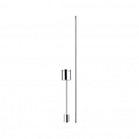 VariLine Schienensystem Stangenabhängung 12.5 / 25 cm Alu-gebürstet
