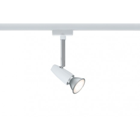Spot Barelli, weiß / chrom, LED, 1 x 65 W