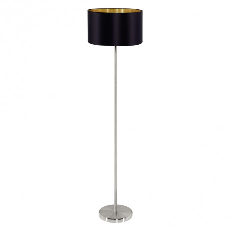 Maserlo, Höhe 151 cm, schwarz-gold