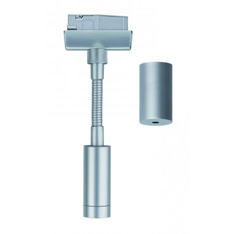 URail System Flex Pendel Adapter Chrom matt 230V Metall / Kunststoff