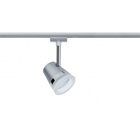 URail System LED Spot Cone 1x6,5W GU10 Chrom matt/Chrom 230V Metall