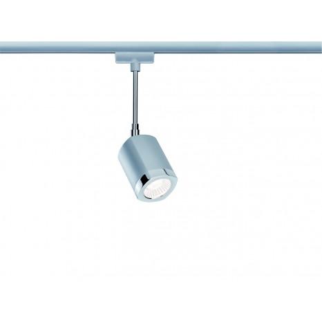 URail Systems LED Spot Wankel, 1x5,4W Chrom matt/Chrom 230V Metall