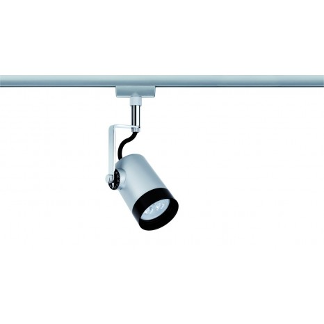 URail System LED Spot Scale 1x3,5W GU10 Chrom matt/Chrom 230V Metall