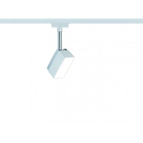 URail System LED Spot Pedal 1x5W Weiß 230V Metall