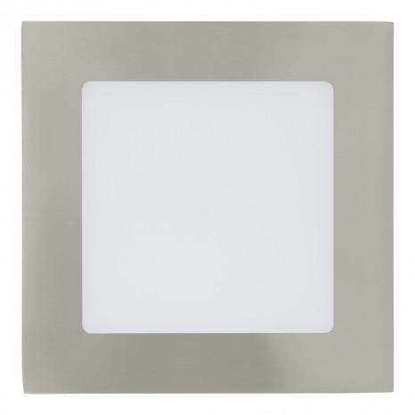 Fueva 1, LED, 12 x 12 cm, nickel-matt