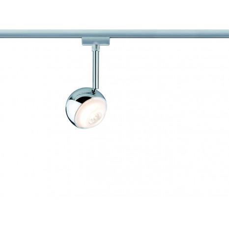 URail System LED Spot Capsule 1x4,5W Chrom matt 230V Metall
