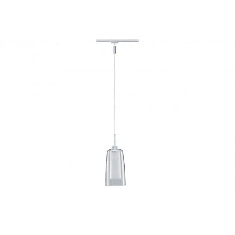 URail LED Pendulum Arido, 3W, mit klarem und satiniertem Glas