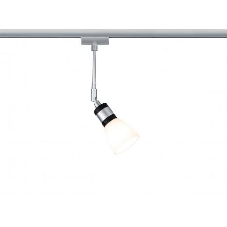 URail System LED Spot Titurel II 1x2,2W G9 Chrom matt/Chrom 230V Met/Gls