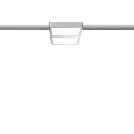 URail System LED, Double 8W, matt-chrom