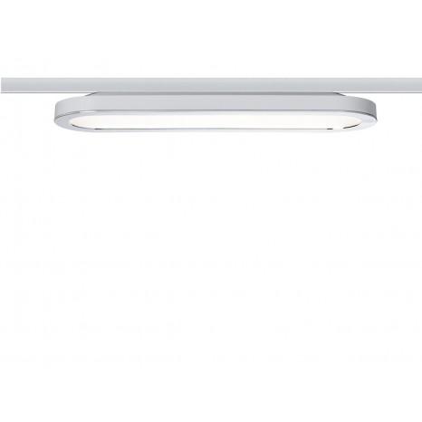 URail System LED Panel Loop, 7W, weiß-chrom