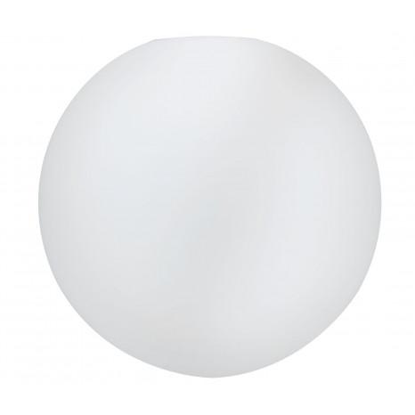Glasschirm Alari Ø 30 cm weiß kugelförmig
