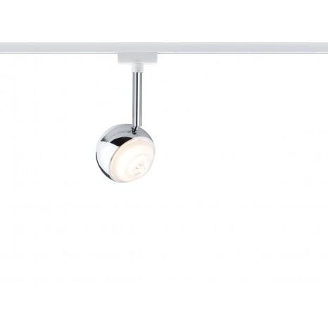 URail System LED Spot Capsule II, 6W, weiß-chrom