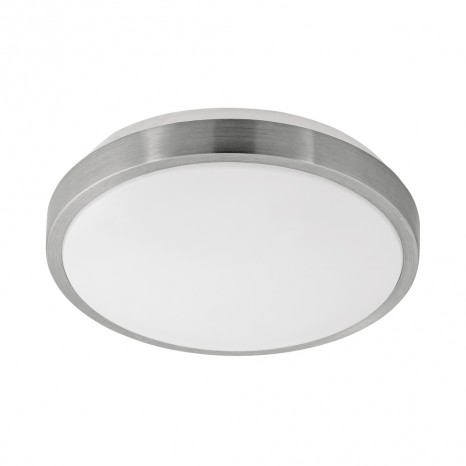 Competa 1, LED, Ø 24,5 cm, nickel-matt
