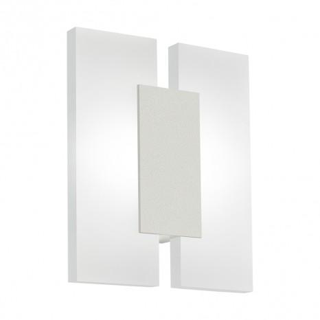 Metrass 2, LED, 17 x 20 cm, nickel-matt