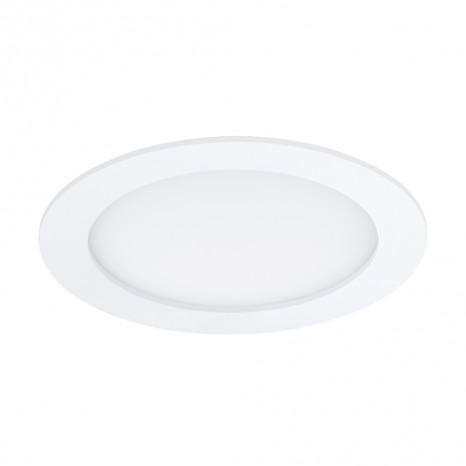 Fueva 1, Ø 17 cm, IP44, 4000K, weiß