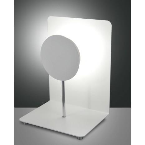 Fullmoon LED, weiß, Metall/Methacrylat, weiß/satiniert, 1000lm, 12W