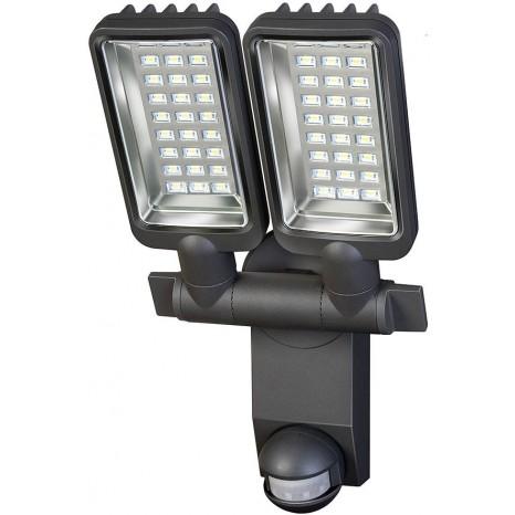Sensor LED-Strahler Duo Premium City IP44 mit Infrarot-Bewegungsmelder