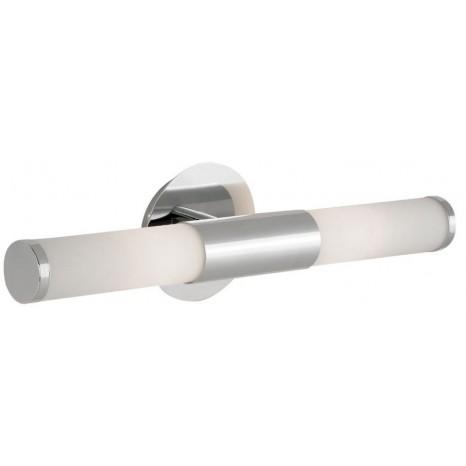 Palmera, Länge 46 cm, IP44, inkl LED, Chrom/Weiß