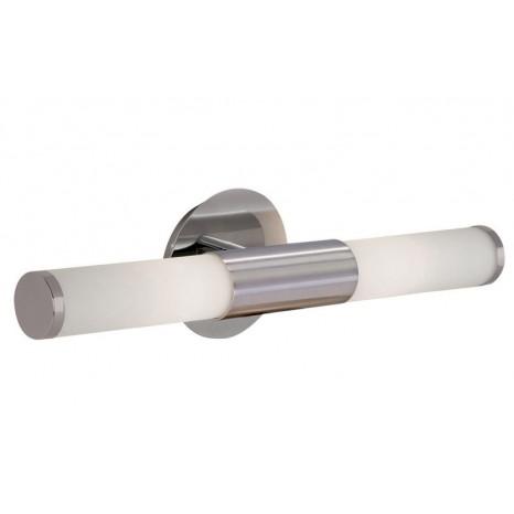 Palmera, Länge 46 cm, IP44, inkl LED, nickel matt-Weiß