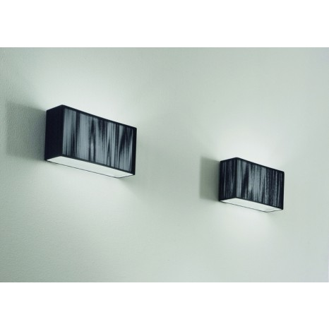 Axo Light Clavius AP Clav 30, 1 x G24d-2, 30 x 18 cm, schwarz
