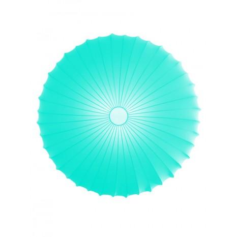 PL Muse 80, 3 x E27, Ø 80 cm, hellblau