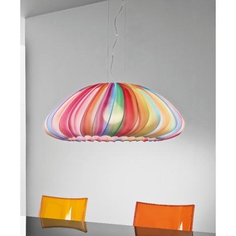 Axo Light SP Muse, 1 x E27, Ø 80 cm, mehrfarbig