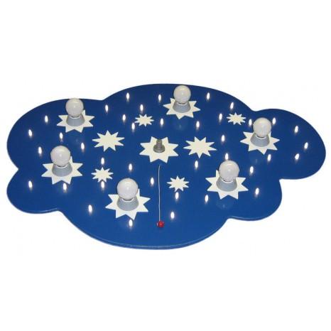Sternenwolke LED 6/40 Dunkelblau