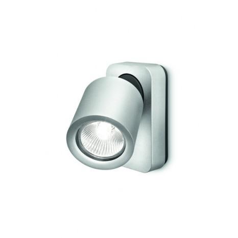 Lirio Dolium, 1-flammig, 7,2 x 12,4 cm, aluminiumfarben