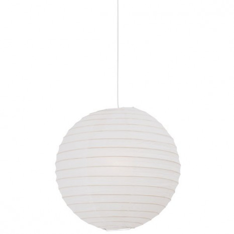 Rispapir 40, IP20, Ø 40 cm, weiß