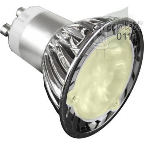 LED GU10 (PAR16), 3,8W, 3200K, 160 lm