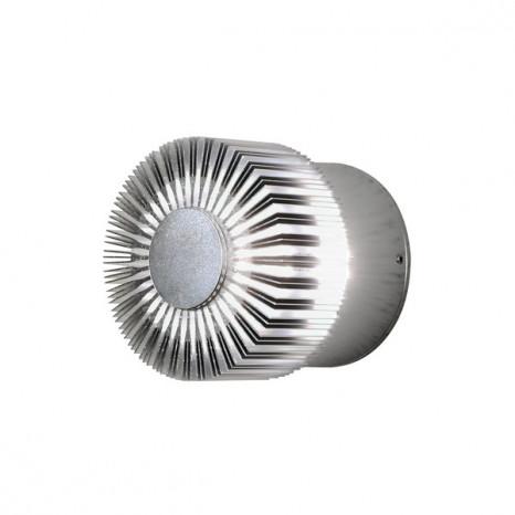 Monza Ø 9 cm metallisch 1-flammig rund