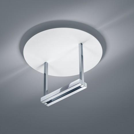 Mata, Höhe 23 cm, IP30, inkl LED, mattweiß/ chrom