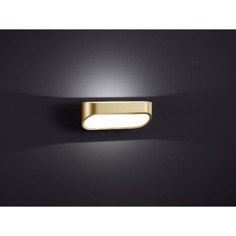 Onno, 7x 18 cm, inkl LED, mattmessing