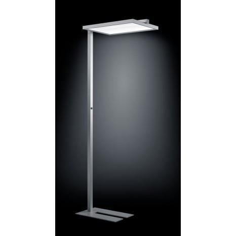 Paro, LED, Höhe 195 cm, 4000K, Dimmbar, Silbergrau