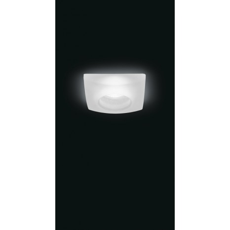 Recessed Spot Quasar Transparent Satin Finish
