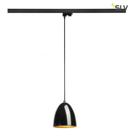 Para Cone 14 für 3Phasen-System, schwarz glänzend, GU10