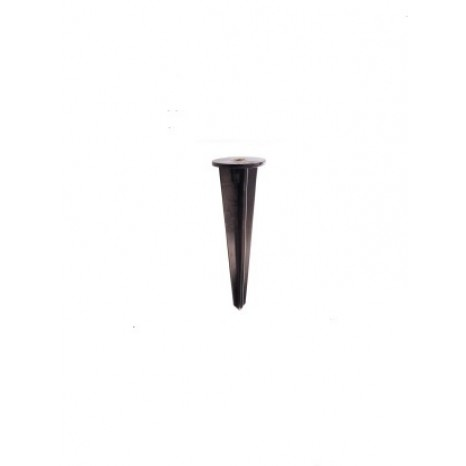 Erdspieß, Kunststoff, Schwarz, Länge: 160 mm