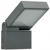 Wandleuchte Nr. 0111, Farbe: anthrazit, mit 1 x LED 16 W