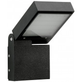 Wandleuchte Nr. 0111 Farbe: schwarz, mit 1 x LED 16 W
