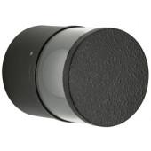 Außenleuchte Ø 10 cm schwarz 1-flammig rund