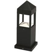 Sockelleuchte Nr. 0599 Farbe: schwarz, mit 1 x LED 12 W, 3000 K
