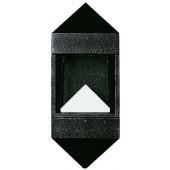 Wandleuchte Nr. 0699 Farbe: schwarz, mit 1 x LED 12 W, 3000 K