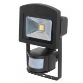 LED-Strahler mIR Dahlem 10BWI,10W, 3000K, schwarz